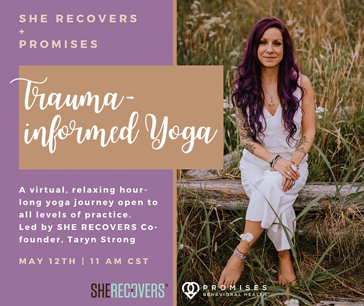 Trauma-Informed Yoga with SHE RECOVERS & Promises Behavioral Health image