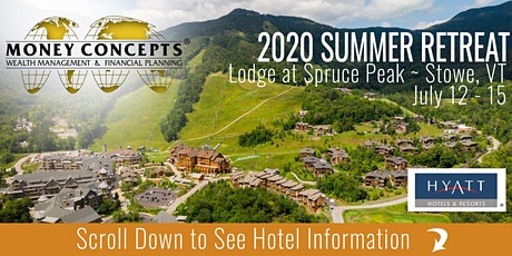 2020 Money Concepts Summer Retreat tickets