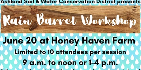 Rain Barrel Workshop-Rescheduled tickets