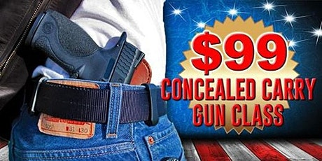 16 Hour Concealed Carry Class Midlothian, IL - Illinois, Arizona & Florida tickets