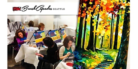 ONLINE Paint Class: Learn to Paint Walk In the Woods (07-11-2020 starts at 6:30 PM) tickets