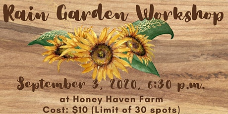 Rain Garden Workshop - Rescheduled tickets