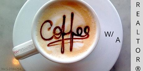 Coffee w/ A REALTOR® tickets