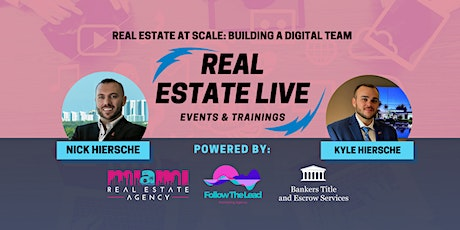 Webinar | Real Estate at Scale: Building a Digital Team tickets