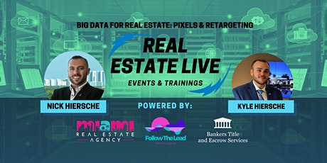 Webinar | Big Data for Real Estate: Pixels & Prospecting tickets