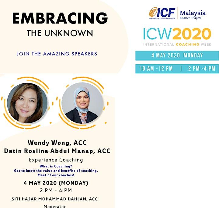 ICF Malaysia - ICW 2020, Day 1: Experience Coaching image