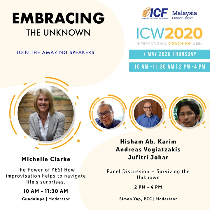 ICF Malaysia - ICW 2020, Day 4: Forum: Surviving the Unknown image