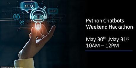 Python Chatbots Weekend Hackathon biglietti