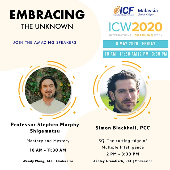 ICF Malaysia - ICW 2020, Day 5: SQ: Cutting Edge of Multiple Intelligence image