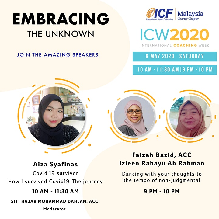ICF Malaysia - ICW 2020, Day 6: How I survived Covid19 - The Journey image