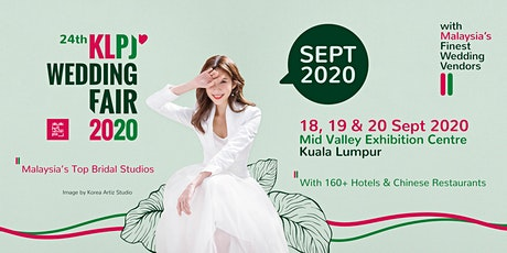 24th KLPJ Wedding Fair 2020 (SEPT 2020) Mid Valley Exhibition Centre tickets