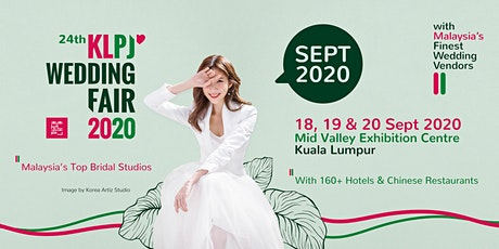 24th KLPJ Wedding Fair 2020 (September 2020) Mid Valley Exhibition Centre tickets
