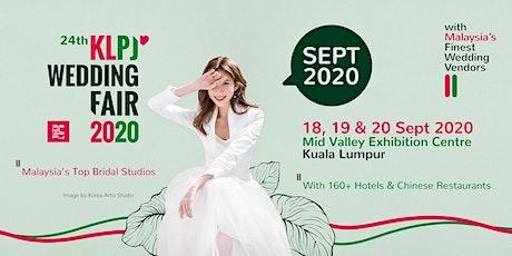 24th KLPJ Wedding Fair 2020 (September 2020) Mid Valley Exhibition Centre tickets