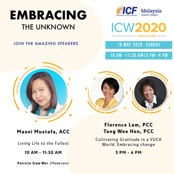 ICF Malaysia - ICW 2020, Day 7: Cultivating Gratitude in a VUCA World image