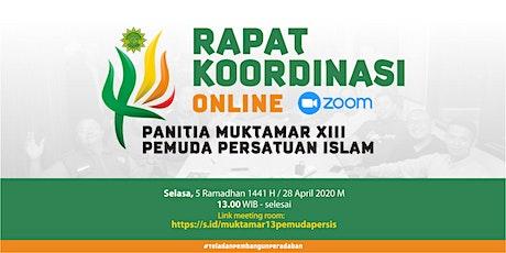 Muktamar XIII Pemuda Persis 2020 Testing tickets