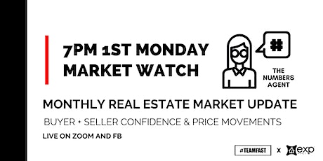 FIRST MONDAY MARKET WATCH - Monthly Market RE Updates: Price Movements tickets