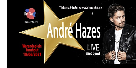 ANDRE HAZES Live met band tickets