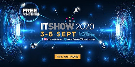 ITSHOW 2020 | 3 - 6 September @ Suntec City tickets