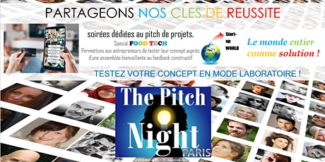 "Pitch Night Paris spécial ""FoodTech"" billets"