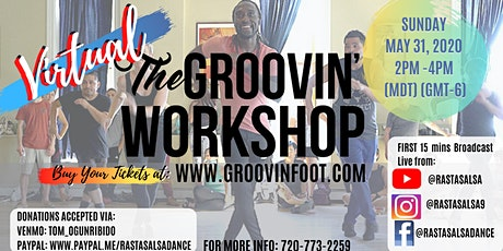 *Virtual* Groovin' Foot Workshop - May 2020 tickets