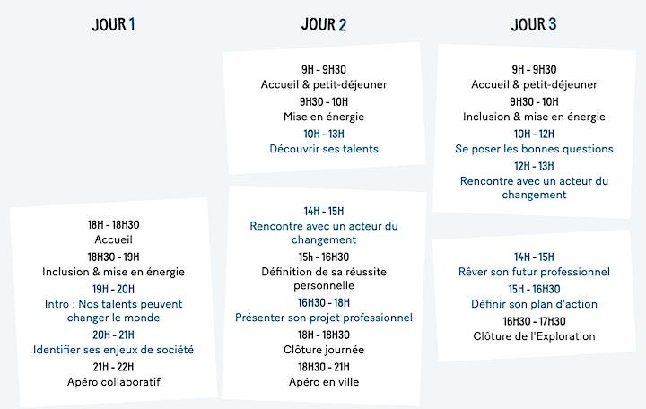 Image pour L'Exploration à Paris - 9 au 11 octobre 2020