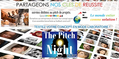 "Pitch Night Paris spécial ""Industrie 4.0"" billets"