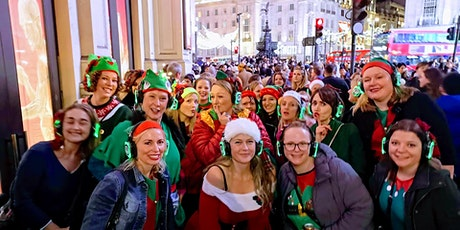 Boogie Shoes Silent Disco Walk London  Christmas Cracker 2021 tickets