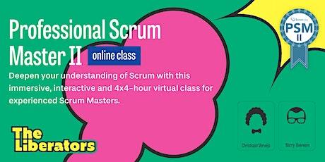 Virtual Professional Scrum Master II tickets