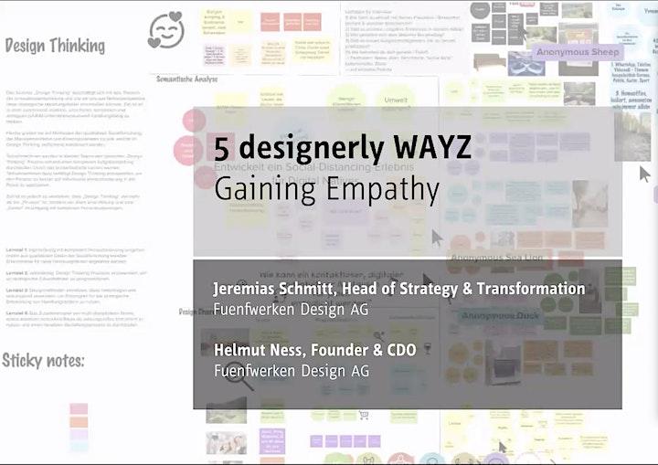 5 designerly WAYZ in 5 days - Day 4 Creating Experiences: Bild