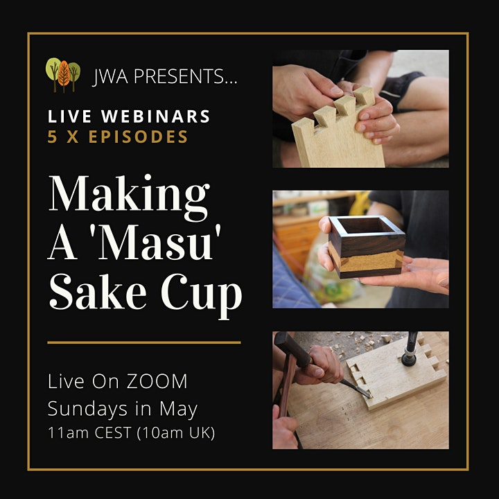 Japanese Woodwork Masterclass Webinars With Masahiro Kudo | Live From Japan image