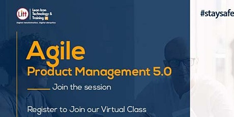 Agile Product Management Virtual Class tickets