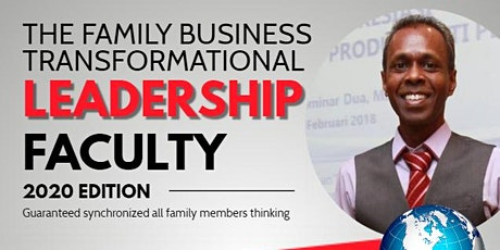 THE FAMILY BUSINESS TRANSFORMATIONAL tickets