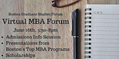 Virtual MBA Forum tickets
