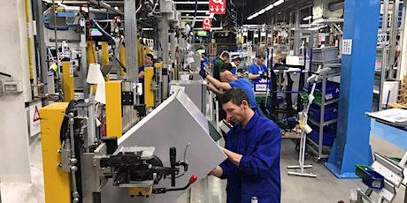 Processi produttivi snelli e veloci con il Lean Manufacturing biglietti
