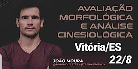 AVALIAÇÃO MORFOLÓGICA E ANÁLISE CINESIOLÓGICA ingressos