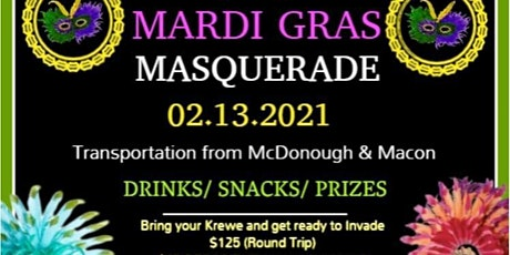 Mardi Gras Masquerade Take Over 2021 tickets