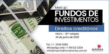 Meet up FIDCs – 18ª edição bilhetes