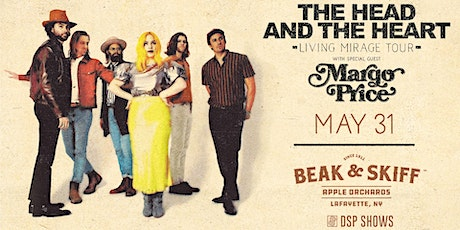 The Head and the Heart – Living Mirage Tour *CANCELED* tickets
