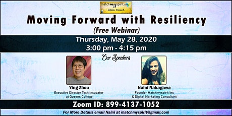 Free Webinar! Moving Forward with Resiliency tickets