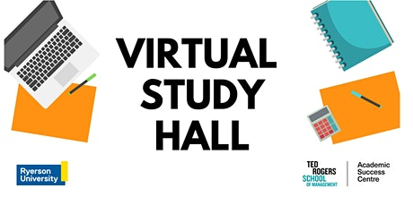 Virtual Study Hall tickets