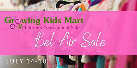 Pop-Up Kids Consignment Sale - Summer Bel Air tickets