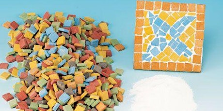 Online Mosaic Coaster Set Workshop tickets