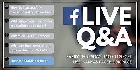 Transition Thursdays - Facebook Live Q&A tickets