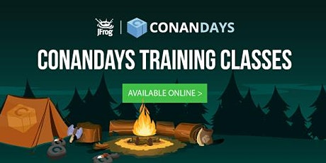 ONLINE Conan Training June 2020 -  CI/CD in C/C++ Projects with Conan and Artifactory - EMEA/APAC time zone tickets