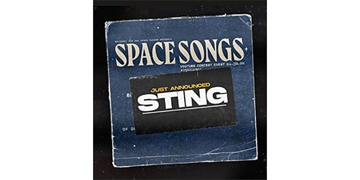 National Air and Space Museum's Space Songs Virtual Concert image