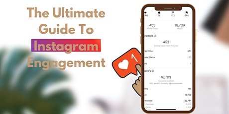 Instagram :The Ultimate  Engagement Guide E-book tickets