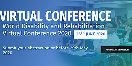 World Disability and Rehabilitation Virtual Conference 2020 (WDRVC 2020) tickets