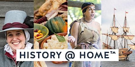 History @ Home™ Express! Wampanoag Pottery tickets