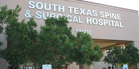 South Texas Spine & Surgical Hospital ONLINE Joint Class tickets