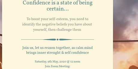 HOW TO BOOST YOUR SELF CONFIDENCE tickets